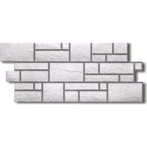 Фасадная панель Docke-r Burg Камень Платиновый (Юрский мрамор)