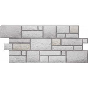 Фасадная панель Docke-r Burg Камень Цвет шерсти (Юрский мрамор)