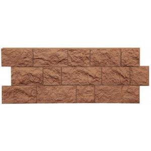 Фасадная панель Docke-r Fels (Скала) Терракотовый