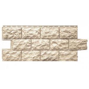 Фасадная панель FineBer Дачный Доломит Бежевый 1120x473