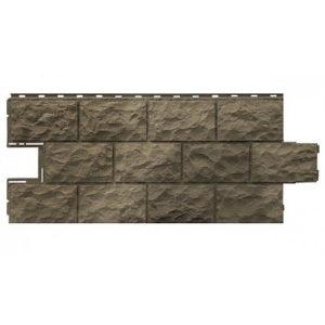 Фасадная панель FineBer Дачный Доломит Дымчатый 1120x473