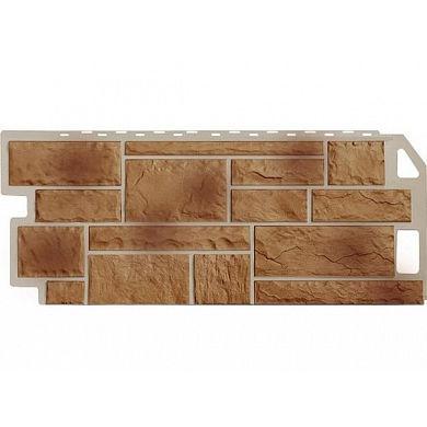 Фасадная панель FineBer Камень (Терракотовый Natur) 1137x470