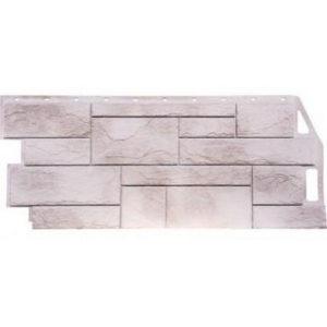 Фасадная панель FineBer Камень Природный (Жемчужный) 1085x447