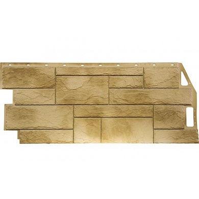 Фасадная панель FineBer Камень Природный (Песочный) 1085x447