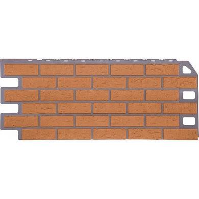 Фасадная панель FineBer Кирпич (Бежевый) 1137x470