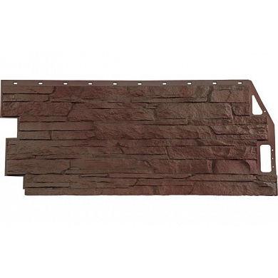 Фасадная панель FineBer Скала (Желто-коричневый) 1094x459