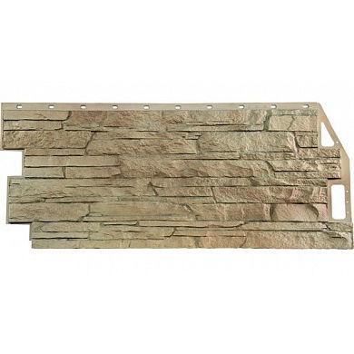 Фасадная панель FineBer Скала (Песочный) 1094x459