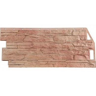 Фасадная панель FineBer Скала (Терракотовый) 1094x459