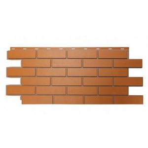 """Фасадная панель Nordside Гладкий кирпич """"Красный"""""""