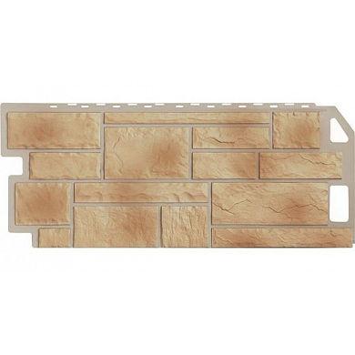 Цокольный сайдинг FineBer Камень ( Бежевый Natur ) 1137x470