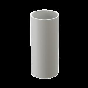 Труба водостока Docke Standard пластик 80 мм * 2м Белый