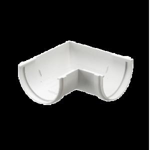 Угол желоба 120 мм*90 гр Docke Standard Белый