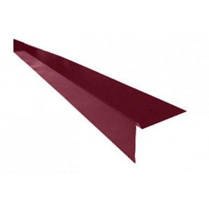 Торцевая планка (ветровая) для мягкой кровли Velur 3009 Оксидно-Красный