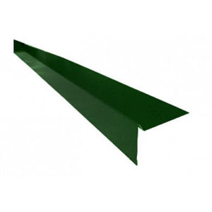 Торцевая планка (ветровая) для мягкой кровли Velur 6020 Зелёный