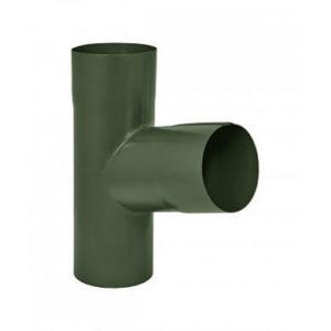 Тройник Аквасистем RR 11 (Тёмно-зелёный) 90/125