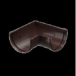 Угол желоба 120 мм*90 гр Docke Standard Темно-коричневый