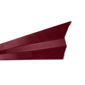 Примыкание для мягкой кровли Velur 3009 Оксидно-Красный