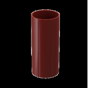 Труба водостока Docke Standard пластик 80 мм * 1м Красный