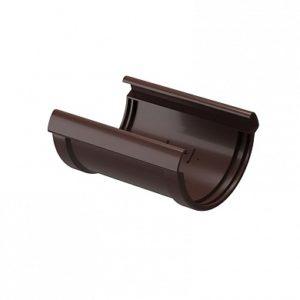 Соединитель желоба Docke Lux Коричневый (Шоколад)