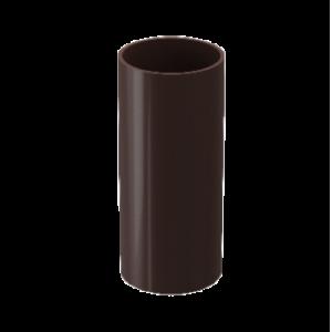 Труба водостока Docke Standard пластик 80 мм * 1м Темно-коричневый
