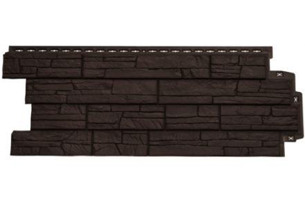 Фасадная панель Grand Line Сланец коричневая